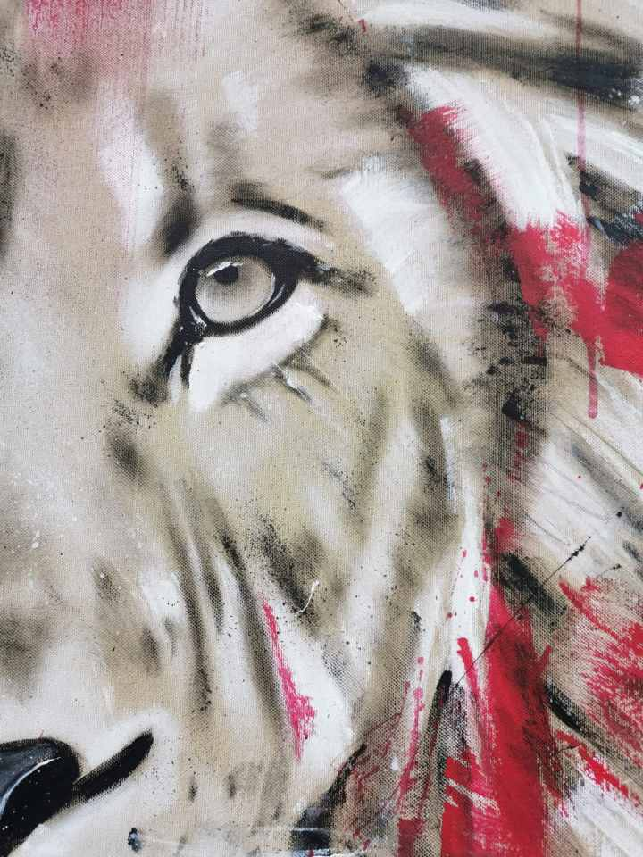 Löwe Gemälde