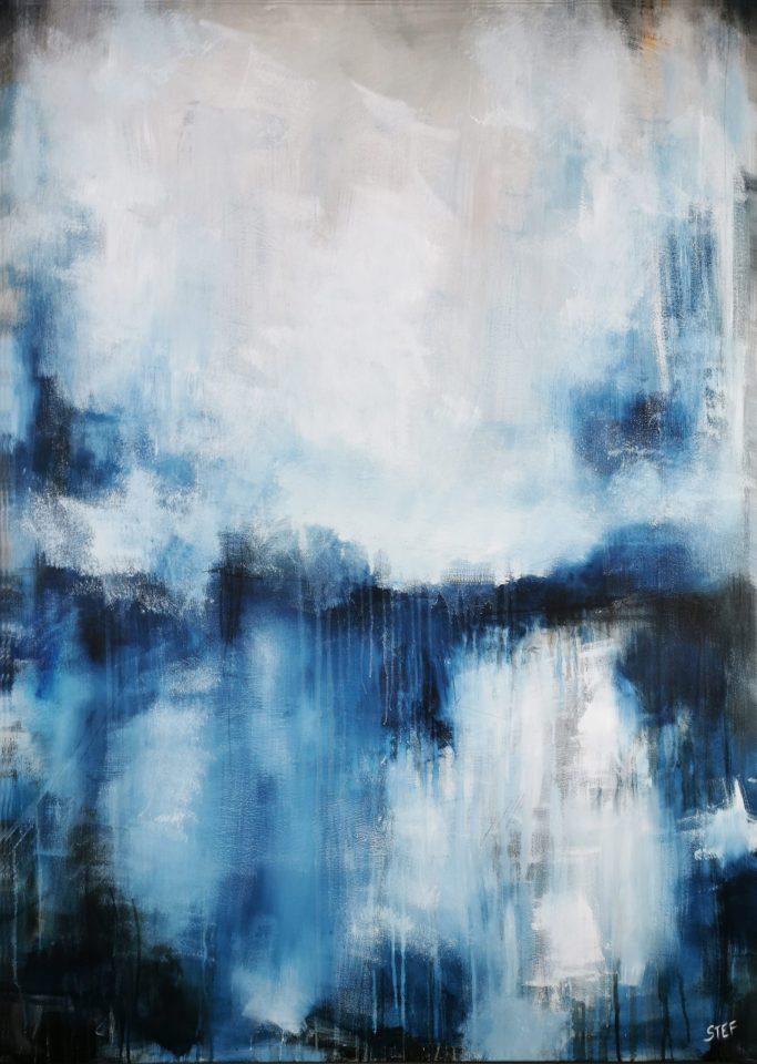 Abstrakte Malerei großformatig
