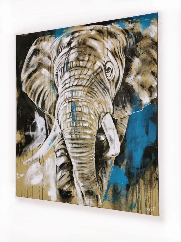 Elefant original moderne Gemälde