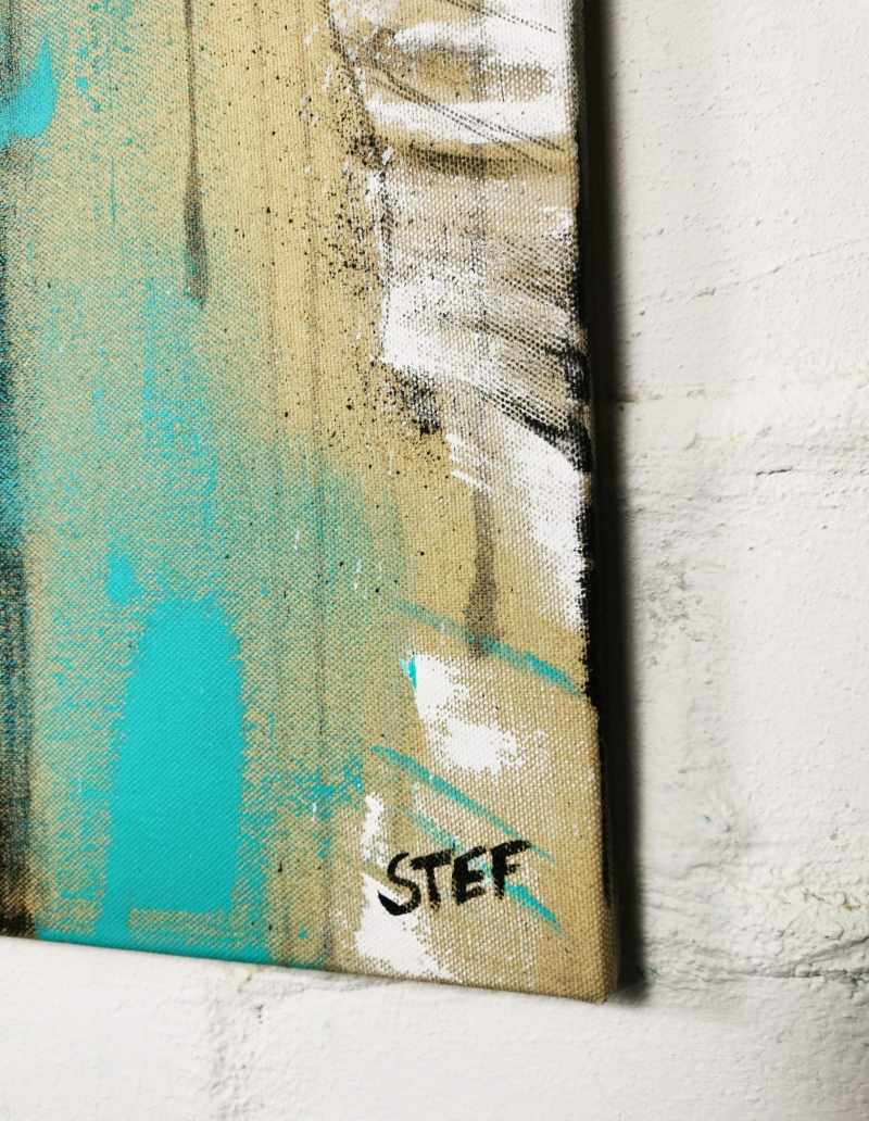 Detail Gemälde Stefanie Rogge