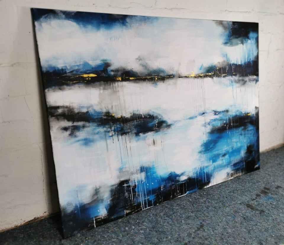 Große abstrakte Kunst