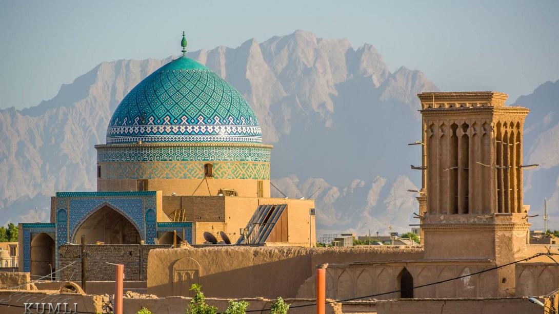 Kuppel des Rokn-od-Din-Mausoleums, Yazd