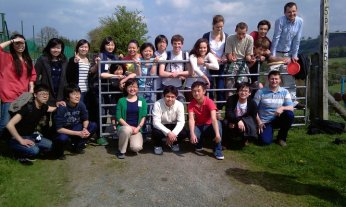 I'm Looking Forward to the Christian Students Conference in Wales! [in the picture: some of the Christian students at the conference in Wales in 2011]