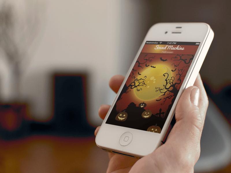 SndMchn - Halloween-Töne für's iPhone