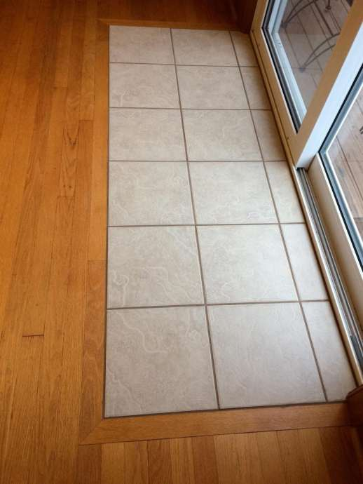 A new tile entry, after