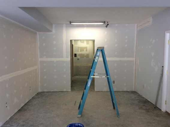 Martial Arts Workout & Medicine Rooms - Basement Rennovation progress