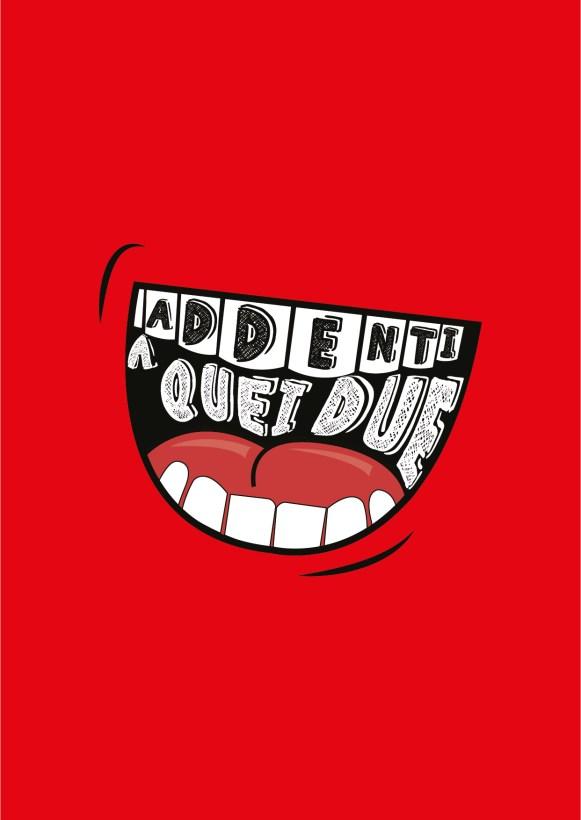 "Logo designed for ""Addenti a Quei Due"" Italian sandwich shop"