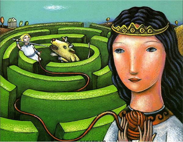 Il mito del labirinto del Minotauro