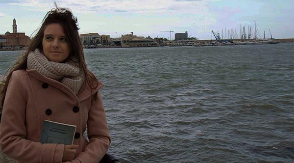 "Stefania Meneghella, autrice di ""Silenzi Messaggeri"", a Venezia"