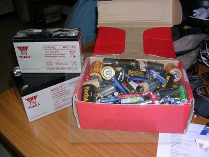 batterie esauste
