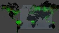La vista mondiale odierna mostra la situazione di ogni foresta...