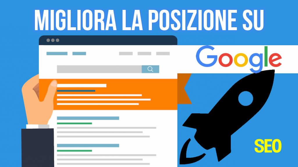 Come migliorare la posizione di un sito WordPress su Google