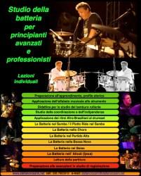 Lezioni di batteria Stefano Rossini