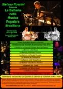 Stefano Rossini e la Batteria nella Musica popolare Brasiliana