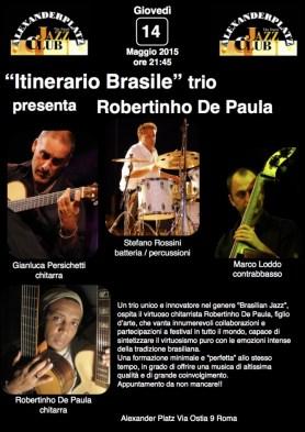 Itinerario Brasile presenta R. de Paula Giovedi 14 Maggio 2015 copia