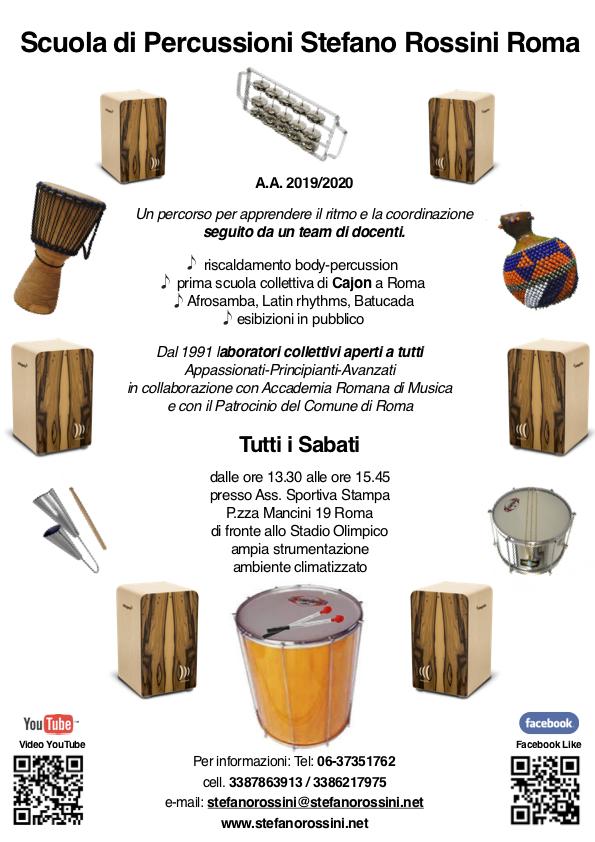 Scuola di Percussioni Stefano Rossini Roma