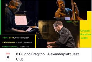 Brag Trio concerto 8 Giugno A.Platz
