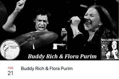Buddy Rich & Flora Purim