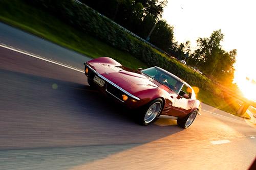 bilfotografering_corvette_stingray_sunset