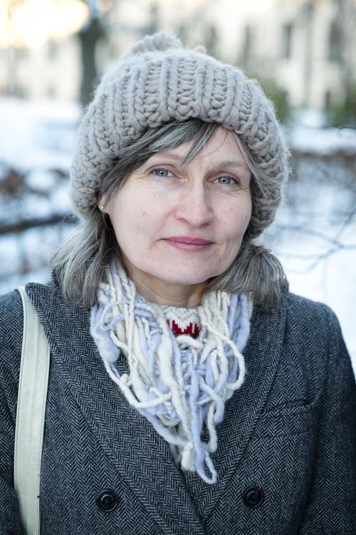 Anna Höglund, utomhusporträtt. Fotograf Stefan Tell
