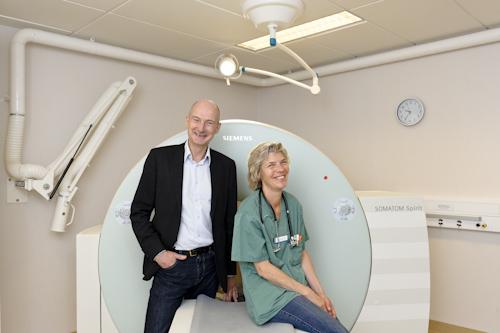 Foto till artikel Veterinärmagazinet om dt-scan på djursjukhuset i Bagarmossen