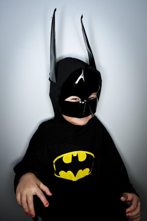 Orbis ringblixt och Batman/Nosferatu. Fotograf Stefan Tell