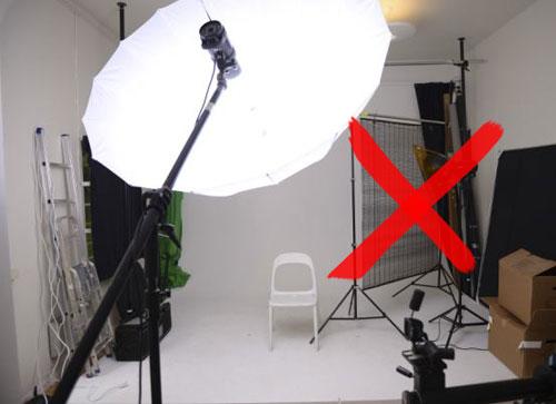 fotostudio-1-blixt-stort-genomskinligt-paraply