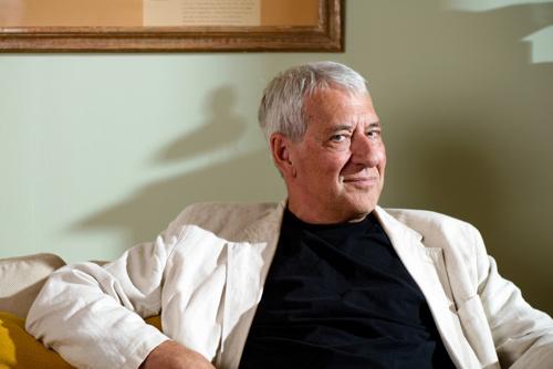 Ulf Nilsson, författarporträtt liggande 2013. Fotograf Stefan Tell