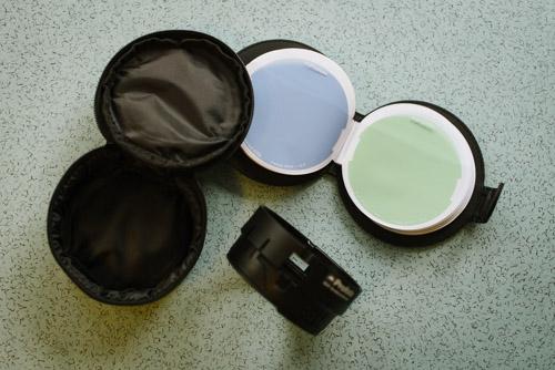 test-profoto-OCF-starter-kit-innehåll-väska-färgfilter-filterhållare