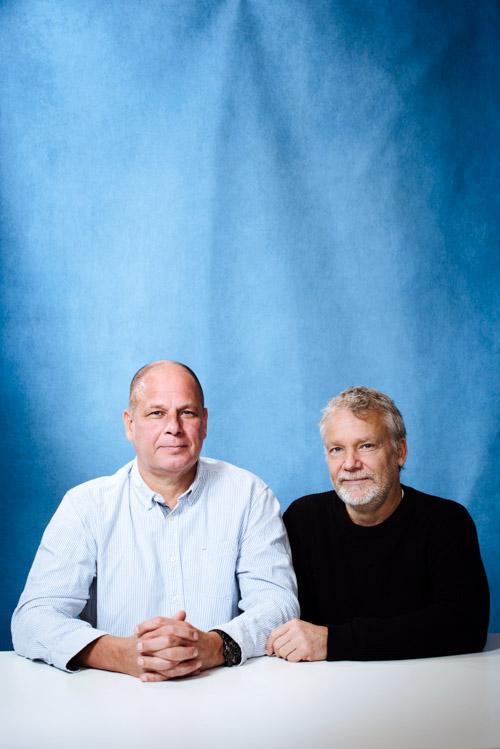 Petter-Lidbeck_Martin-Widmark_Bonnier_forfattarportratt-pressbild