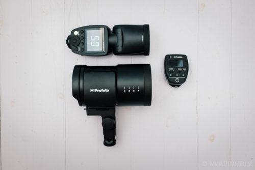 Profoto-B10_test-recension-jamforelse-storlek-Profoto-A1-kamerablixt-remote