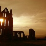 Whitby Abbey Silhouette
