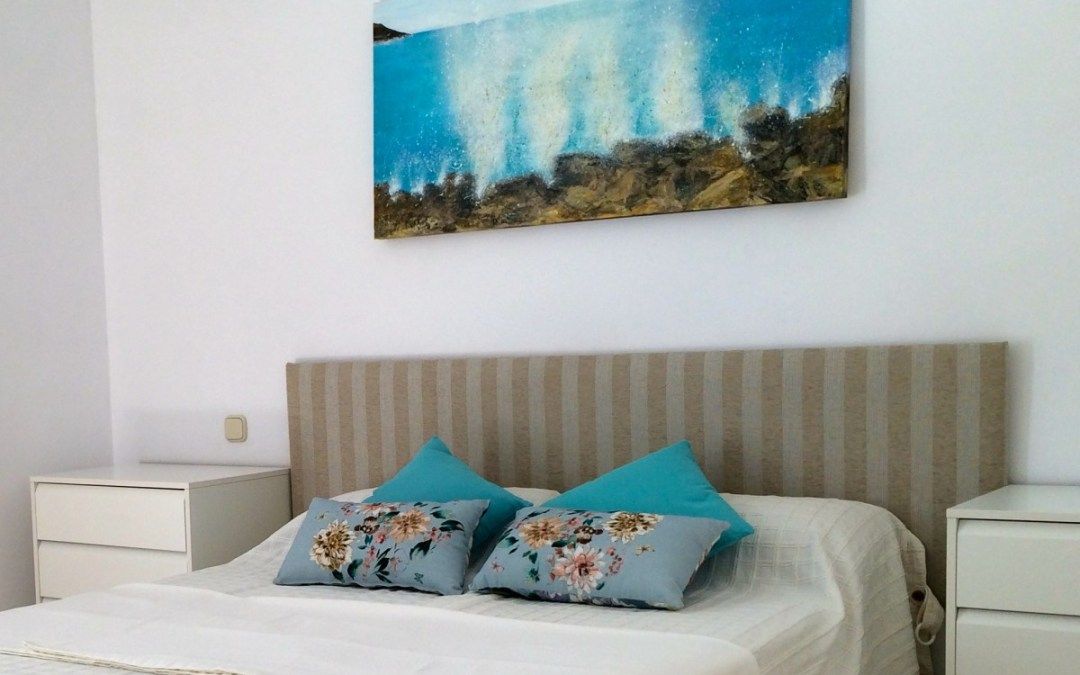 Seasplash Art Seascape in situ - Marbella Apartment