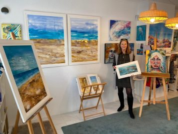 Seascapes Exhibition at The Blue Bay Gallery, Spain