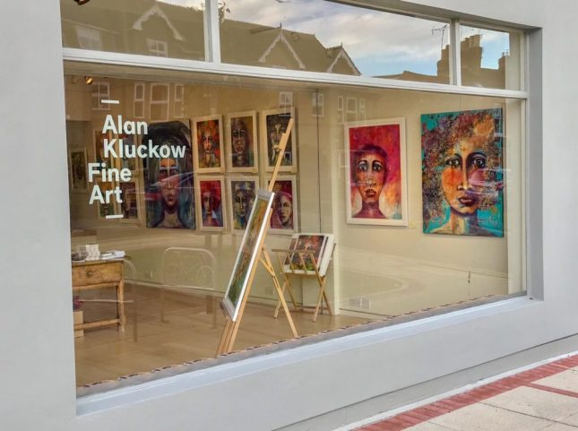 Solo Exhibition at the Alan Klucklow Fine Art Gallery