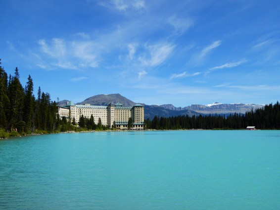 Unterwegs am Lake Louise