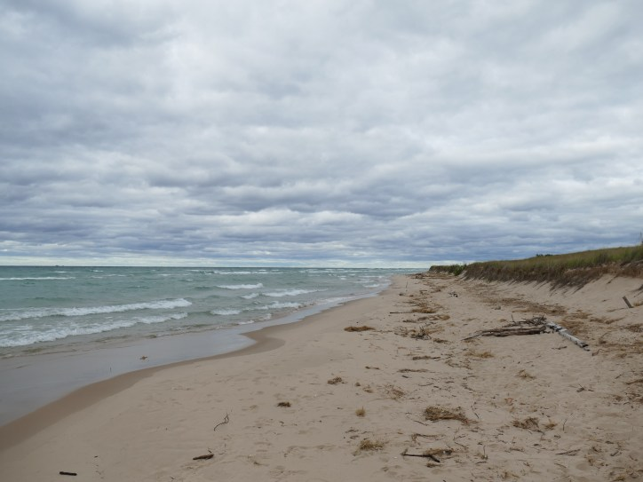 Wanderung zum Big Sable Point - Lighthouse Ludington State Park