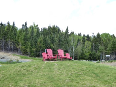 red chair location im Fundy National Park