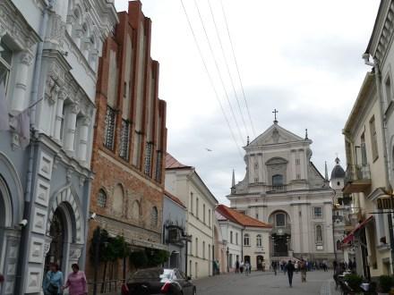 Unterwegs in Vilnius