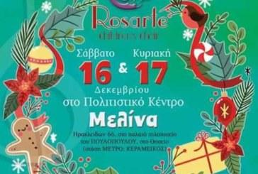 Χριστουγεννιάτικο Μουσικό Bazaar Rosarte