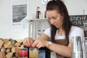 Melinda Pohl kreirt Steinhorn Gin Cocktails