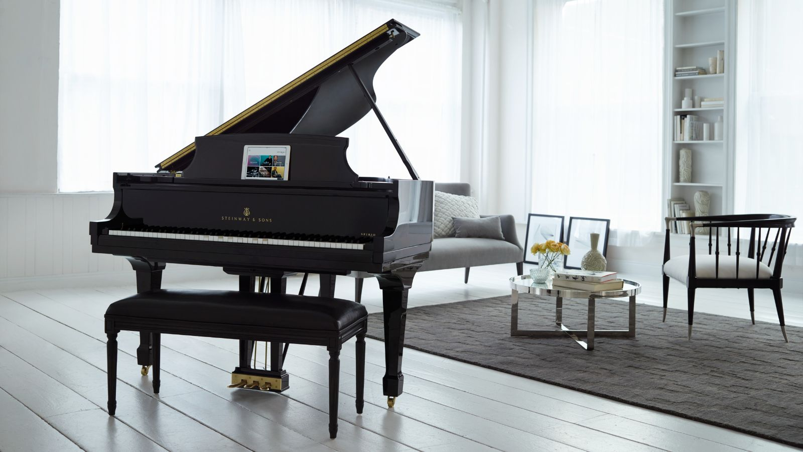 Steinway Grand Piano Wallpaper