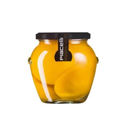 Pfirsich - Kompott - Die volle Frucht im Glas