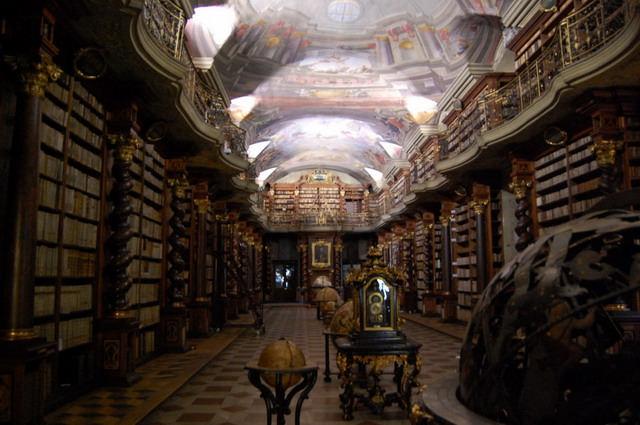Klementium Library, Praga