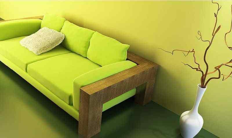 decor cu lemn masiv - mobila contemporana