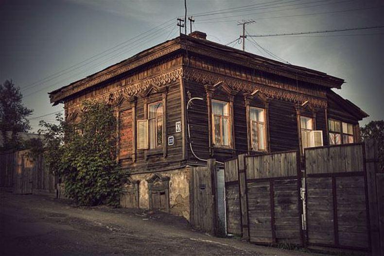 Casa siberiana din lemn - Rusia Eterna