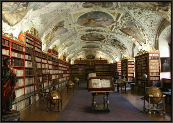 Sala Teologica - Manastirea Strahov - Praga