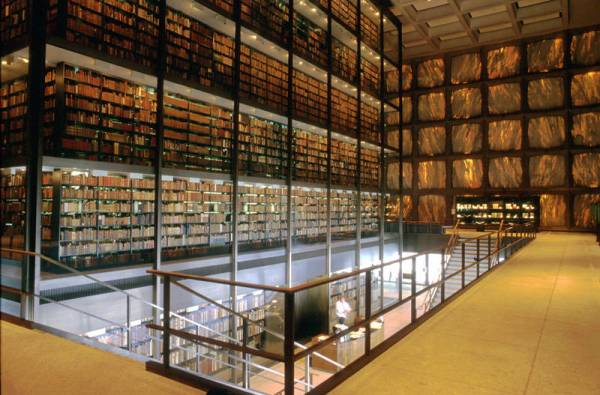 Yale, Beinecke Rare Book and Manuscript Library