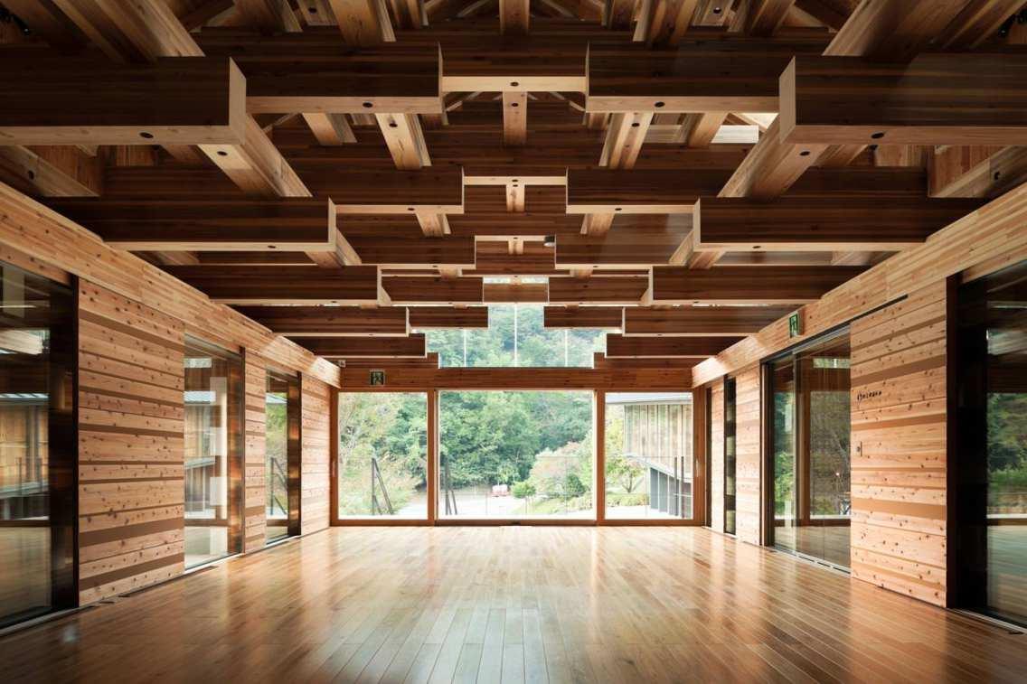 Yusuhara Wooden Bridge-Museum arhitectura japoneza