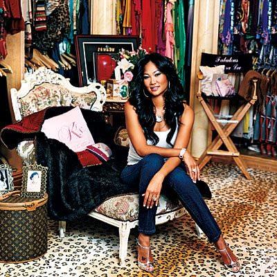 Dressing Kimora Simmons
